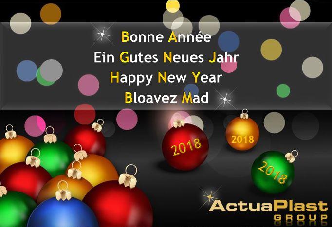 Ein gutes Neues Jahr 2018 ! -