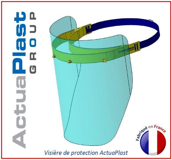 Visière de protection ActuaPlast